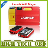 Wholesale One extra Battey as gift Newest Version Multi language Launch X431 Diagun Scanner Software Full Set Lifelong free update