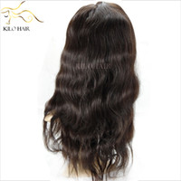 Wholesale Full Lace Wigs Virgin Human Hair Wigs Malaysian Swiss Lace French Lace Baby Body Wave Hair Natural Color Retail Wigs