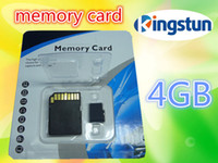 Wholesale GB Memory SD Card gb TF Memory Card with Free Adapter and Blister Package High speed download TF micro sd card FREE DHL EMS