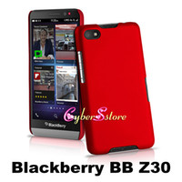 Wholesale Colorful Rubber Snap On Rubberized Coated Hard Plastic Shell Case Cover For Blackberry BB Z30 A10