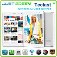 Teclast 7.9inch Quad Core Teclast G18 Mini 3G Quad Core Tablet PC 7.9 inch Android 4.2 1024*768 IPS mini pad GPS Bluetooth WCDMA Phone call dual Camera