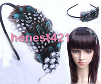 Teal And Black Cheap Fashion Jewelry Top Hat stunning teal pheasant
