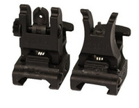 Wholesale New arrival Tactical A R M S L F R Set Folding Front Rear Sight Set Black