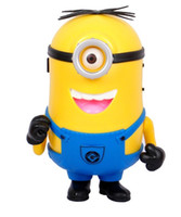 Wholesale DESPICABLE ME Cute Speaker Mini hifi Loud for Computer Minions SpeakersMP3 Player Amplifier USB Disk Micro SD TF Card