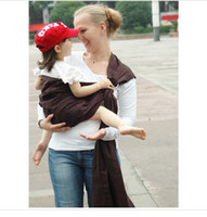 Wholesale 1 Piece Cotton Baby Sling with Ring Baby Carrier Infant Gears Backpacks String Baby Bjorn Outdoor Baby Carrier Towels Wraps