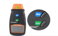 Wholesale Non Contact Digital Photo Tachometer Laser RPM Tester Tach Meter Back Y1010A