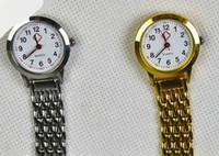 Wholesale 100pcs Silver Charms Pendants Quartz Nurse Watch For Doctor Nurse Angel Gift Fob Watch Colors