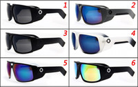 Wholesale Fashion European Big Frame Touring SPY3 Men women Retro Sunglasses Bike Sports Eyewear UV400 colors AAA quality G1303B