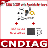 Wholesale with latest software with x61t laptop full set for BMW ICOM with Spanish Language