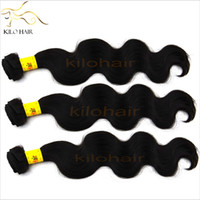 Wholesale 20 OFF Unprocessed Malaysian Virgin Hair Weave Donor Body Wave Human Hair inch to inch for black women