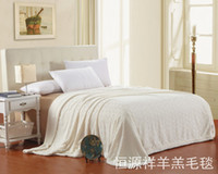 Wholesale Heng YUAN XIANG wool blanket home textile air conditioning blanket single double wool blanket