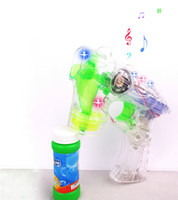 other bubble toy - Fully automatic music transparent bubble gun outdoor bubble gun bubble machine toy bottle bubble water