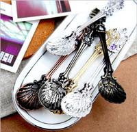 Wholesale 10 off Spoon retro alloy Arabian trade small spoon boutique coffee spoons sale pretty tea spoons