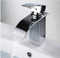 Wholesale brass square waterfall faucet