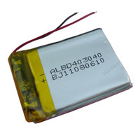 Cheap Wholesale - 3.7V 500 mAh Rechargeable Polymer Lithium battery for GPS PSP Bluetooth Headset Mp3 Mp4 Mobiles Backup power Supply 403040