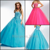 Sweetheart beautiful prom dresses - Beautiful Sweetheart Ball Gown Corset Bodice Sheer Prom Dress Sequin Beads Lace Up Floor Length Cheap Prom Party Gowns