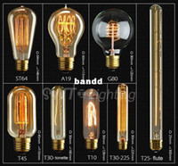 Wholesale Factory price traditional Edison classic Silk light bulb vintage sericultural pendant bulb lamp model for choice