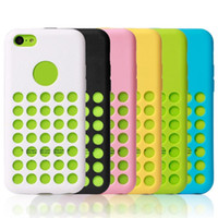 6 colors Soft Silicone Rubber TPU Gel Polka Dots Dot Case Co...