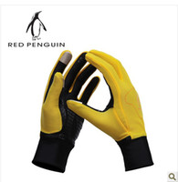 Wholesale Red penguin outdoor gloves cross country skiing gloves for men and women cold thermal gloves h20896