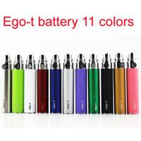Cheap Standard Battery 650mah ego t battery Best Yes Yes 900mah Cigarette battery