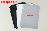 Wholesale For Ipad air back Guard Vinyl Carbon Fiber Sticker For Ipad air Tablet Decal