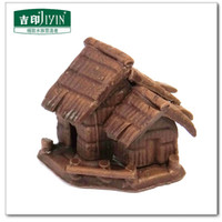 Wholesale Idyllic scenery decorative fish tank aquascaping small ornaments pottery antiquity cottage gardening decorations
