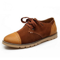 New 2013 brand Retro Fashion autumn Mens Leather casual shoe...