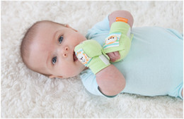 Wholesale HOT Newborn Baby Safety protective gloves to prevent scratching Gauntlets TJ A0008