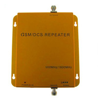 Wholesale Dual Band Cell phone Signal Amplifier Booster GSM MHz MHz