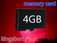 Wholesale GB Memory SD Card TF Memory Card micro sd card TF4GB card with Free Retail Blister Package