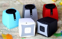 Wholesale New square shape Bluetooth speaker with U disk TF card and FM radio Music Speaker