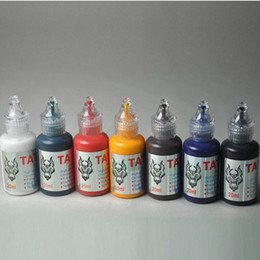Wholesale 21 bottles ml professional Tattoo Inks ml bottle colors can be choosed