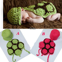 Wholesale Handmade Crochet Organic Hatchling Turtle Cuddle Critter Cape Set Newborn Photography Prop Baby hat Toddler beanie