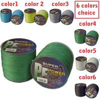 Wholesale PE SPECTRA BRAID FISHING LINE to LB M DYNEEMA metal grey