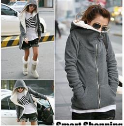 Wholesale Hot Sale Women s Hoodies warm Sweatshirts Velvet Hoodies Clothing Winter