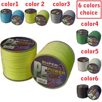 Wholesale m PE dyneema FISHING LINE top grade braided LB lb you can choose whatever