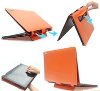 Wholesale PU Leather Case Cover Bag Protector For Lenovo IdeaPad Yoga Pro Ultrabook Convertible quot Yoga S1 Yoga Orange Laptop