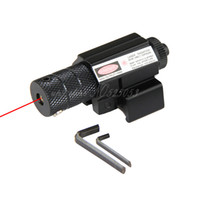 Wholesale 6PCS Tactical Hunting Mini Red Dot Laser Sight for Pistol Handgun Airsoft mm Rail Mount