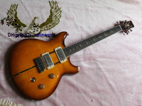 6 Strings santana - ANNIVERSARY SANTANA custom shop Electric Guitar Yellow