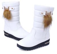 Wholesale Lady Women Martin Boots Fashion Boots yellow platform warm Winter A