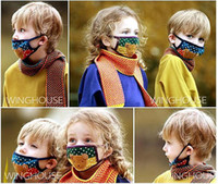 Wholesale New Arrival Hot Children s masks cotton cartoon cute warm mask six color optional