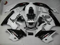 Wholesale NEW Motorcycle Fairing kit for HONDA CBR600F3 CBR F3 CBR600 CBRF3 CBR F3 white black Fairings set gifts HQ65