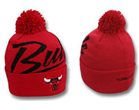 Wholesale Chicago Bull Beanies Winter Hats Unisex Knitted Caps mix order