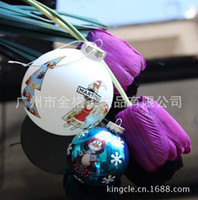 Wholesale Glass crafts glass Christmas ball glass ball Christmas ball