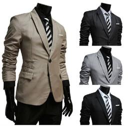 Wholesale Hot Sale New Men Slim Suits men single breasted jacket business casual jackets Suit