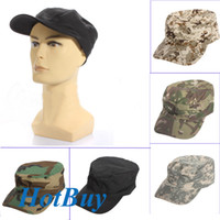 Wholesale Desert Forest Camo Camouflage Military Army Hunting Baseball Ball Cap Caps Hat