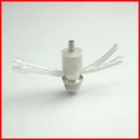 Wholesale E Cigarette Atomizer Core Coil Replacement ohm Long Cotton Wick for Ego CE4 CE4S Vivi Nova Clearomizer