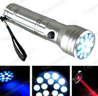 Cheap 15 LED 3 In 1 UV Red LASER Pointer Ultra Violet Flashlight Light Lamp Torch Mini Led Flashlight