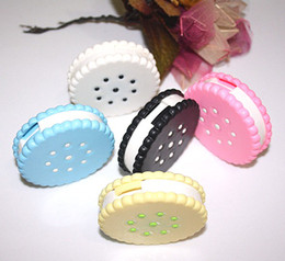 Wholesale Top quality New Sweet Cookies Series Contact Lenses Box amp Case Contact lens Case Promotional Gift