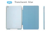 Wholesale Translucent Smart cover for ipad air good quality